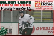 Leafs traded defenceman Austin Anselmo to Surrey Eagles of the BCHL. — The Nelson Daily photo