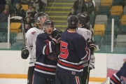 Any extracurricular activities Sunday started when tempers began to boil between Spokane and Nelson Saturday at the NDCC Arena. — Bruce Fuhr photo