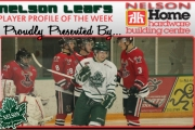 Nelson Home Building Centre Leafs Player Profile of the Week — Alec Wilkinson