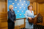 Premier Christy Clark said Wednesday the provincial government is approving the Kinder Morgan pipeline.
