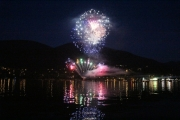 Fireworks over Kootenay Lake capped off a spectacular 2014 Canada Day. — Bruce Fuhr photos