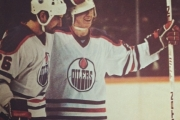 Pat Price played in 726 NHL games and during his time in Edmonton got to play with the Great One, Wayne Gretzky.