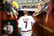Nelson's Isaac MacLeod played his final game as a Boston College Eagle, but now must wait to see which path his hockey career will take. — Photo courtesy John Quackenbos, Boston College