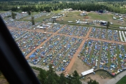 More than 20,000 festival goers flocked to Pemberton for the music festival. — Photo courtesy IHIT