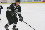 Derek Georgopoulos is returning to the West Kootenay this fall to play for the Selkirk College Saints where he will be part of a team that will be striving for its fourth straight BCIHL championship. — Photo courtesy Selkirk College Saints