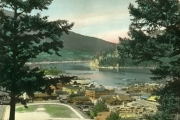 View of Nelson from Gyro Park. J.H. Allen