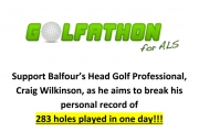 Balfour's Craig Wilkinson hitting links to fight ALS