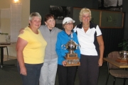 The winning squad from Granite Pointe includes, from left, Kathy Tencza, Sue Moisey, Audrey Arcuri and Sherry McIvor. — Submitted photo