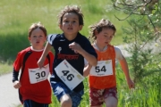 Nearly one quarter being young triathletes aged between four to 15 years old. — Photo courtesy Raven Eye Photography