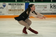 Courtney Shrieves was terrific in Pirates of the Caribbean. — photos courtesy Nelson Figure Skating Club