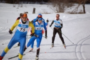 Great weather conditions welcomed competititors at the final Kootenay Cup race of the season at the Nelson Nordic Ski Club. — Photo courtesy John Boulanger
