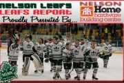 The Nelson Leafs could help but smile after knocking off the Castlegar Rebels in the Murdoch Division Semi Final Friday at the NDCC Arena. — The Nelson Daily photo