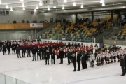 The 11-teams took to the ice Sunday for opening ceremonies at the B.C. Hockey Peewee Rep Tier 3 Provincials Championships in the NDCC Arena. — The Nelson Daily photo