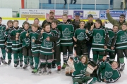 The West Kootenay Peewee House champs from Nelson includes, back row, L-R, coaches Dean Centrone, Pat Thast, Martin Grill and Mark Arrowsmith. Middle, Nick Haydu, Dylan Ewen, Jackson Cousins, Callum Cutler, Ben Thast, Rhett Hamilton, Gordon Hollett, Ethan grill, Seamus Boyd, Nikko Lazier, Bruce Sookro and Ethan Bennett. Front, Jack Centrone and Josh Marsden. Missing, manager Laura Marsden, Devan Hawkes and Andy Loutit. — Submitted photo
