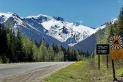 The highway through the Rogers Pass is one that needs attention.