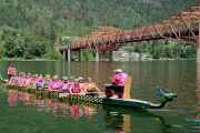 Kootenay Rhythm Dragons (KRD) is asking for foreshore area to build a dock to the moor up to four dragon boats. — Screen Shot photo