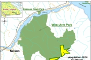 West Arm Provincial Park is one of six BC parks to be expanded under Bill 8.