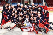 Ex-Leaf Nick Newman is part of the RBC Cup Champion Brooks Bandits.