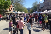 The crowds were rather large all day at the 14th Annual Nelson Garden Festival. — Photos courtesy Deb Fuhr, The Nelson Daily