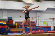 The competition was intense at the  Kootenay Zone Gymnastic Championships held this weekend at the Glacier Gymnastic facility in the Civic Centre. — The Nelson Daily