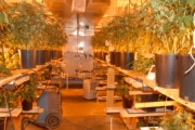 The bunker of the sophisticated grow-op was shut down by Combined Forces Special Enforcement Unit. — Photo courtesy Combined Forces Special Enforcement Unit