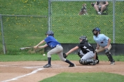 Nelson Jays were up against Castlegar in action at Queen Elizabeth Park in Nelson. — Bruce Fuhr, The Nelson Daily