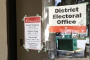 The District Electoral Office is located in the City of Nelson building on Ward Street.