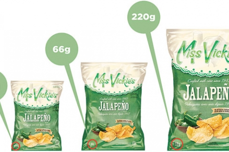 The CFIA said the Miss Vickie's initiated a voluntary recall of its Jalapeño flavour, kettle-cooked potato chips due to a potential salmonella risk.