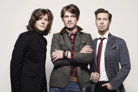 The trio Hanson is going to rock the Capitol later this month. — Submitted photo