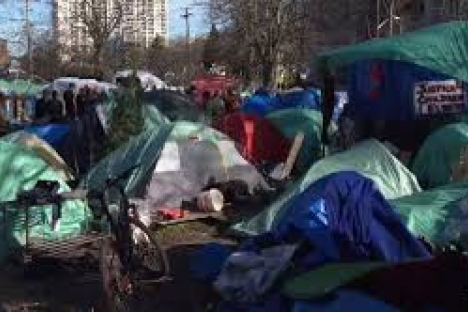Victoria's tent city — a sign of times?