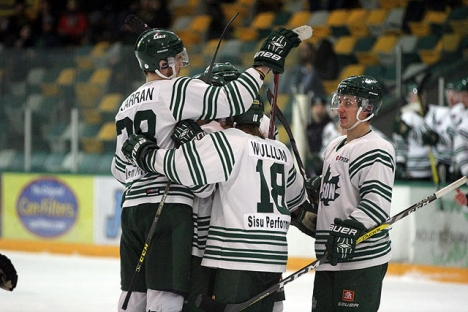 Logan Wullum staked the Leafs to a 3-2 series lead with the overtime winner Thursday.