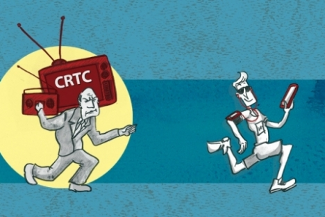 Emergence of new, low-cost technologies requires further de-regulation of Canadian broadcasting sector