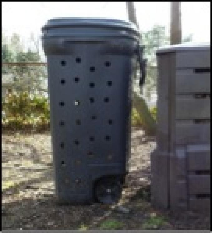 Bear-proof garbage containers can mean new life for old garbage cans