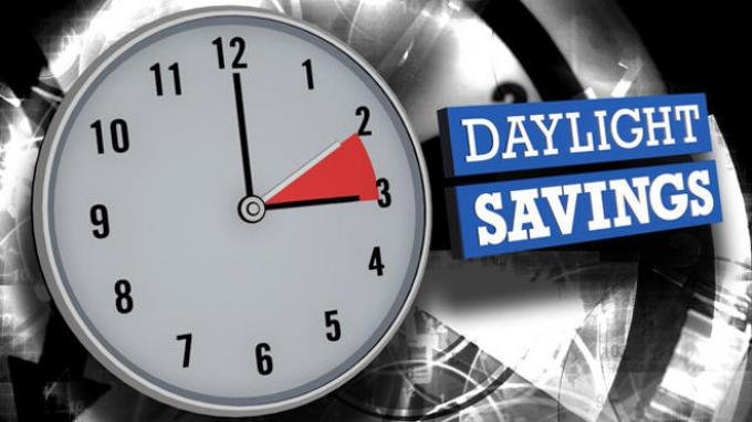 Do not forget to  change your clocks: Daylight Saving Time starts this weekend