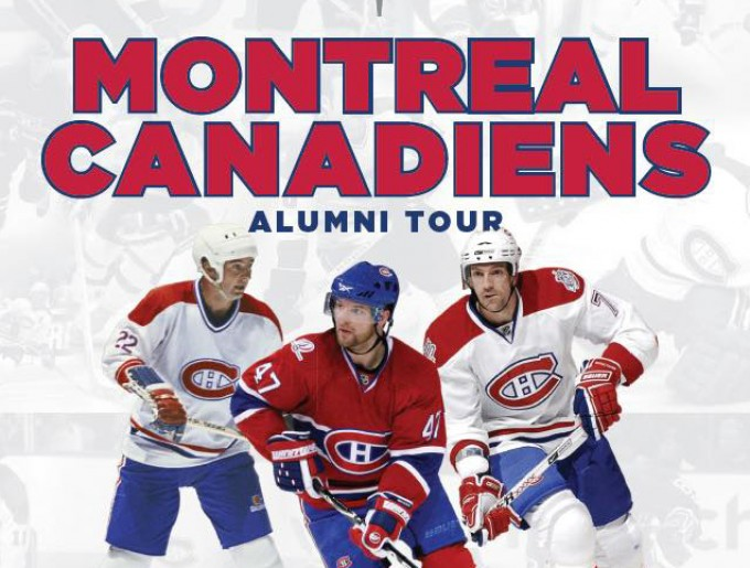 Make A Change Canada Hosts Montreal Canadiens Alumni Charity Hockey Game The Nelson Daily