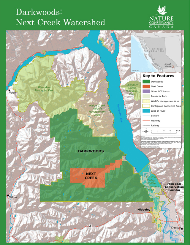 Feds, BC invest in expansion of Darkwoods Conservation Area