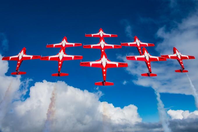 Image result for snowbirds aircraft