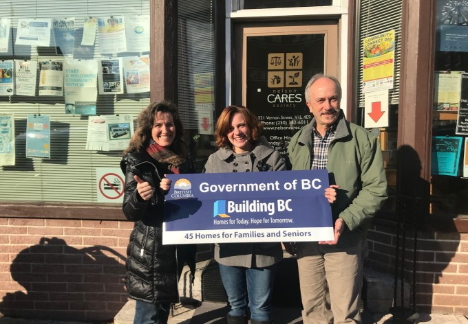 Province announces $4 5 Million in funding for new Nelson Cares